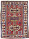 A Borjalou Kazak rug South Central Caucasus, size approximately 5ft. 1in. x 6ft. 10in.