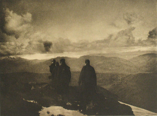 James Craig Annan (Scottish, 1864-1946); The Dark Mountains, from Camera Work;