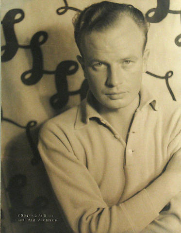 Carl van Vechten, 2 photos of Johan Hagemeyer