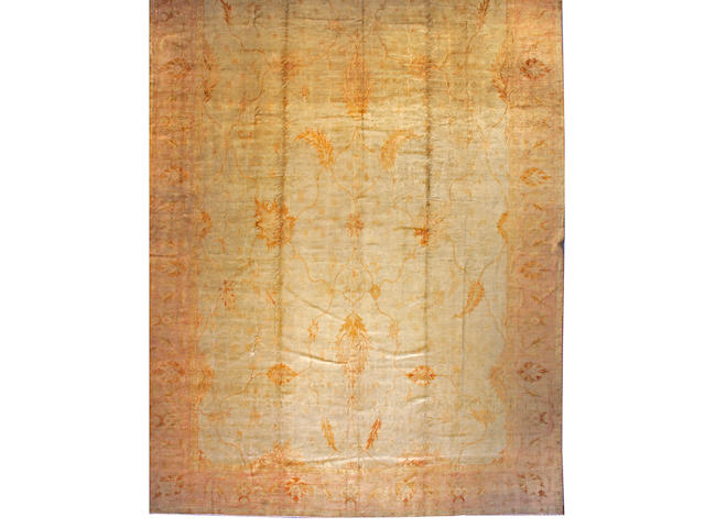 A Borlou carpet West Anatolia, size approximately 14ft. x 20ft.