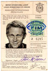 Steve McQueen's ISDT License