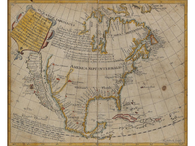 Briggs. The North Part of America. L: 1625