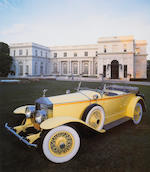 As featured in the 'Great Gatsby',1929 Rolls-Royce Phantom I Ascot Tourer  Chassis no. S304 KP Engin
