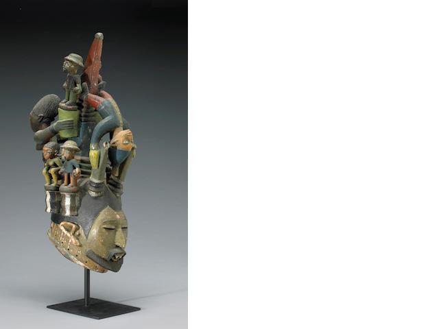 A Yoruba mask