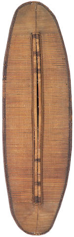 A Central African wicker shield