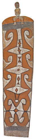 An Asmat shield