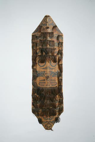 A Dayak war shield height 46in