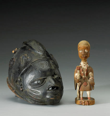 Two Yoruba carvings