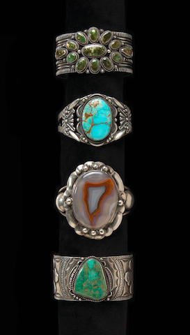 Four Southwest bracelets