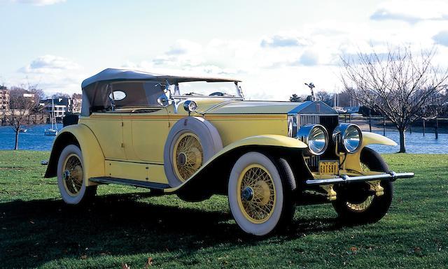 1928 Rolls-Royce 40/50hp Phantom I Ascot Dual Cowl Sport Phaeton - Gatsby Car