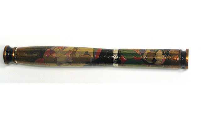 LOIMINCHAY: Erotica de Japon Series Number Two Floating World Shunga Limited Edition set of Three Fountain Pens