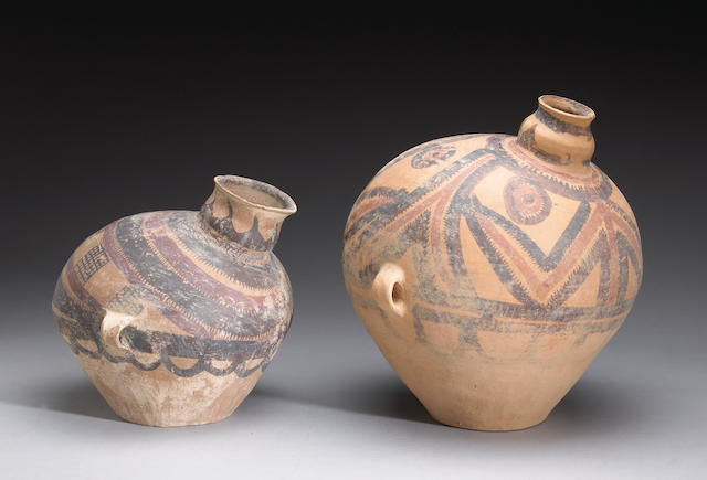 Two Neolithic jars