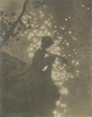 Anne W. Brigman (American, 1869-1950); Star Dust;