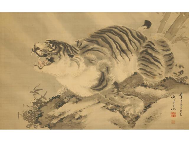 Kishi Gantai (1782-1865) Tiger