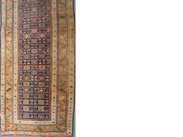 A Kurd Bidjar runner size approximately 4ft. x 13ft.