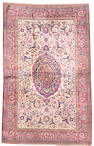 A Silk Kashan Central Persia size approximately 4ft. 2in. x 6ft. 8in.