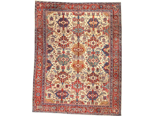 A Serapi carpet Northwest Persia size approximately 9ft. 10in. x 12ft. 8in.