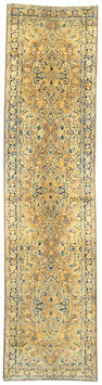 A Kerman runner South Central Persia size approximately 3ft. x 12ft.