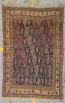 A Qashqa'i rug South West Persia, size approximately 4ft. 5in. x 6ft. 7in.