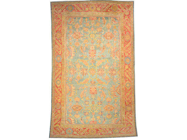 A Sultanabad carpet Central Persia size approximately 9ft. 8in. x 15ft. 9in.