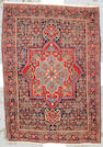 A Bidjar rug Central Persia, size approximately 3ft. 10in. x 5ft. 5in.
