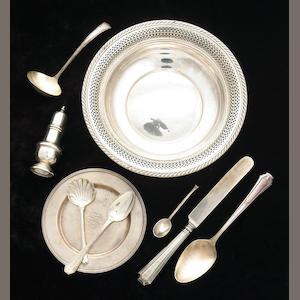 Sterling Group of Assorted Flatware and Table Articles