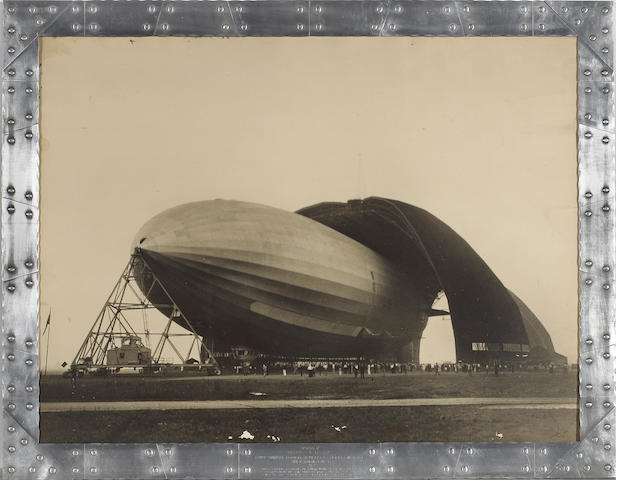 Margaret Bourke-White (American, 1904-1971); United States Airship Akron;