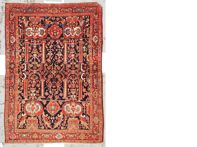 A Fereghan Sarouk rug Central Persia, size approximately 4ft. 4in x 6ft. 4in.