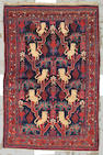 A Bidjar rug Central Persia, size approximately 4ft. 3in. x 6ft. 7in.