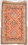 A Qashqa'i rug Southwest Persia, size approximately 4ft. 6in. x 7ft.