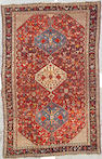 A Qashqa'i rug Southwest Persia, size approximately 6ft. 2in. x 9ft. 10in.