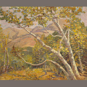 George Kotch (1885-1951) 'Carmel Valley' 30 x 35in