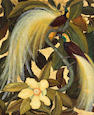 Jessie Arms Botke (American, 1883-1971) Birds of Paradise, 1939 24 x 20in
