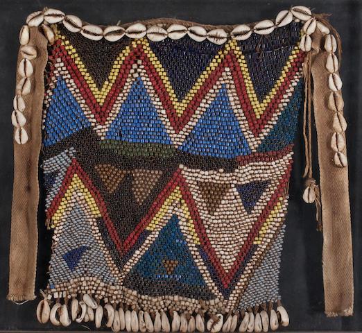 An African textile