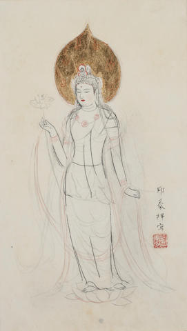Domoto Insho (1891-1975) Avalokitesvara