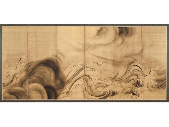 Morimura Yoshine (1871-1938)<br>Dragon
