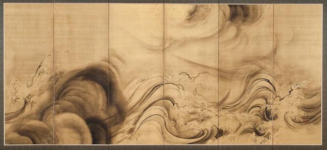 Morimura Yoshine (1871-1938) Dragon
