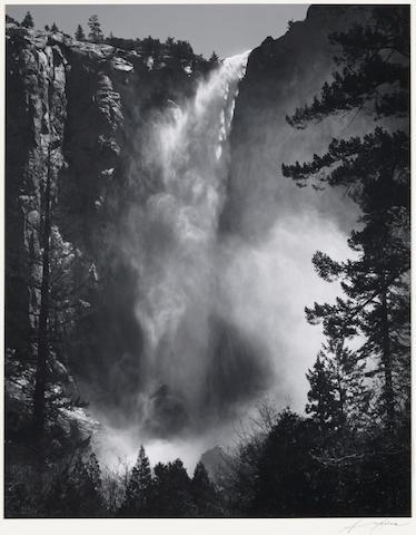 Ansel Adams (American, 1902-1984); Bridalveil Fall;