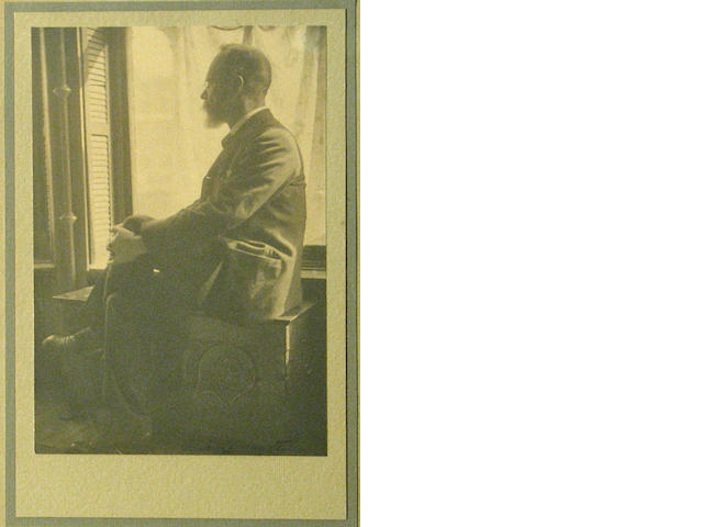 Alice Boughton (American, 1865-1943); Portrait of William James;