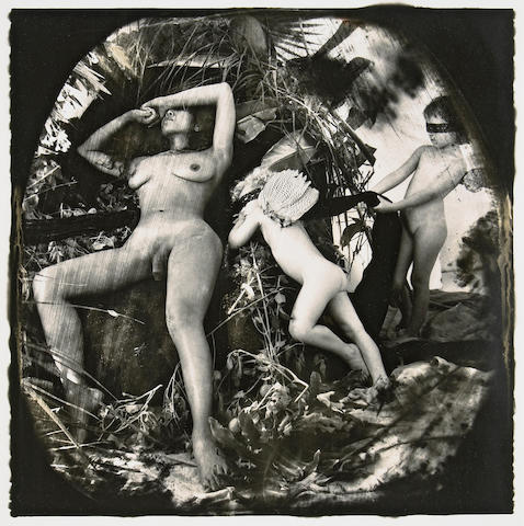 Joel-Peter Witkin (American, born 1939); Venus and Cupid: The Caucasian View of History, Los Angeles;