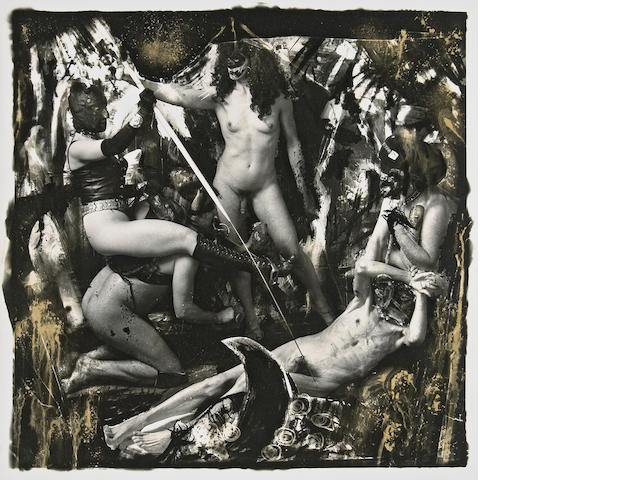 Joel-Peter Witkin (American, born 1939); Apollonia and Dominatrix Creating Pain in the Art of the West, N.Y.C.;