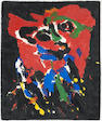 Karel Appel (Dutch, 1921-2006); Flying Devil;