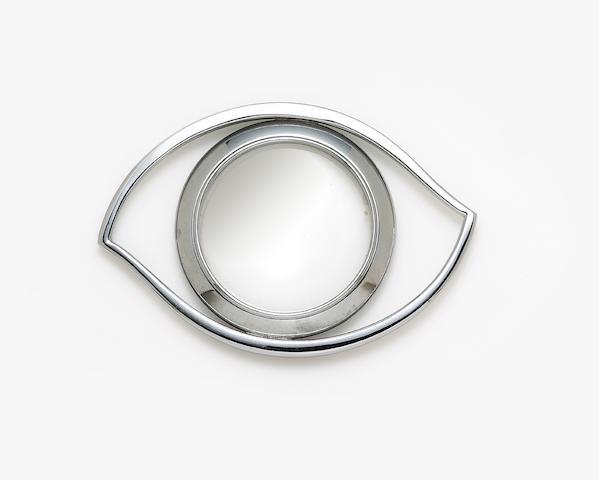 A magnifying glass, Hermes