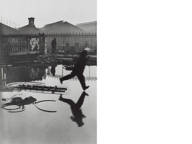 Henri Cartier-Bresson (French, 1908-2004); Behind the Gare St. Lazare;