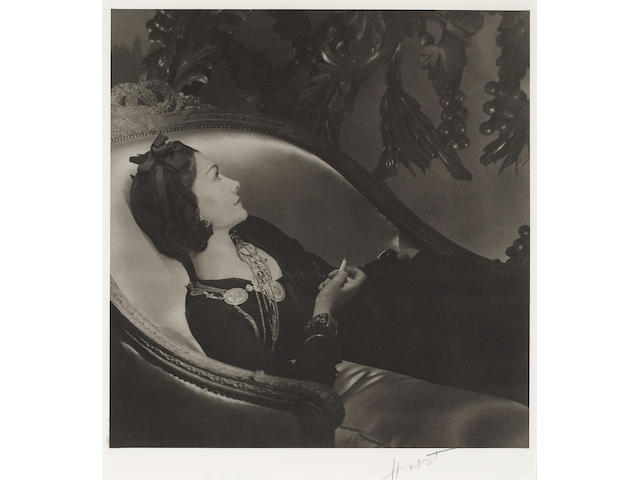 Horst P. Horst (German/American, 1906-1999); Coco Chanel, Paris;