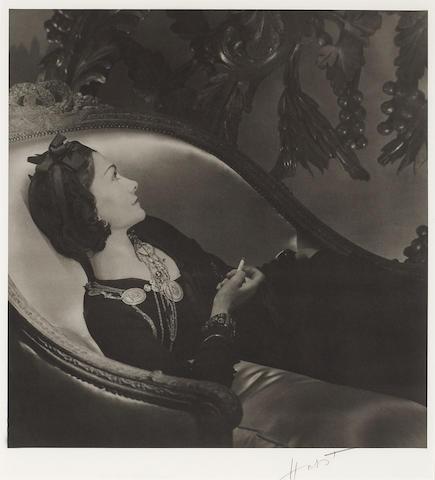 Horst P. Horst (German/American, 1906-1999); Coco Chanel, Paris;