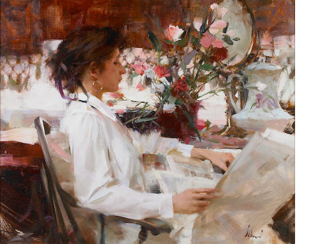 Richard Alan Schmid (American, born 1934) Carly, 1992 20 x 24in