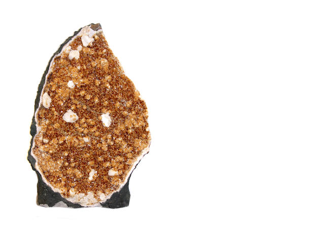 Citrine Geode Section
