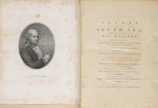 BLIGH, WILLIAM.  1754-1817.