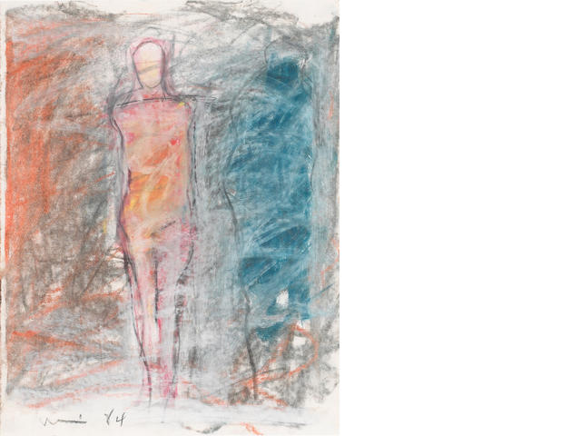 Manuel Neri (American, born 1930) Carrara No. 30, 1984 13 3/4 x 10 3/4in (35 x 27cm)